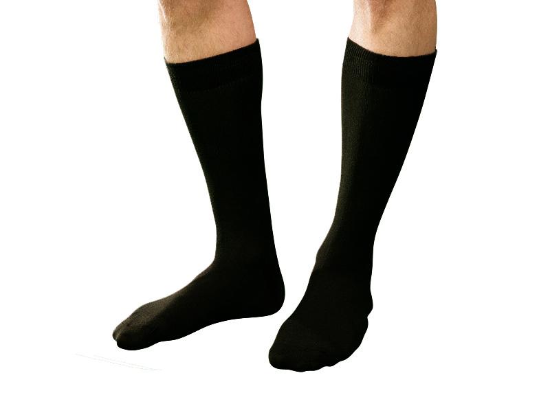 chaussettes unies noires coton bio. Black Bedroom Furniture Sets. Home Design Ideas