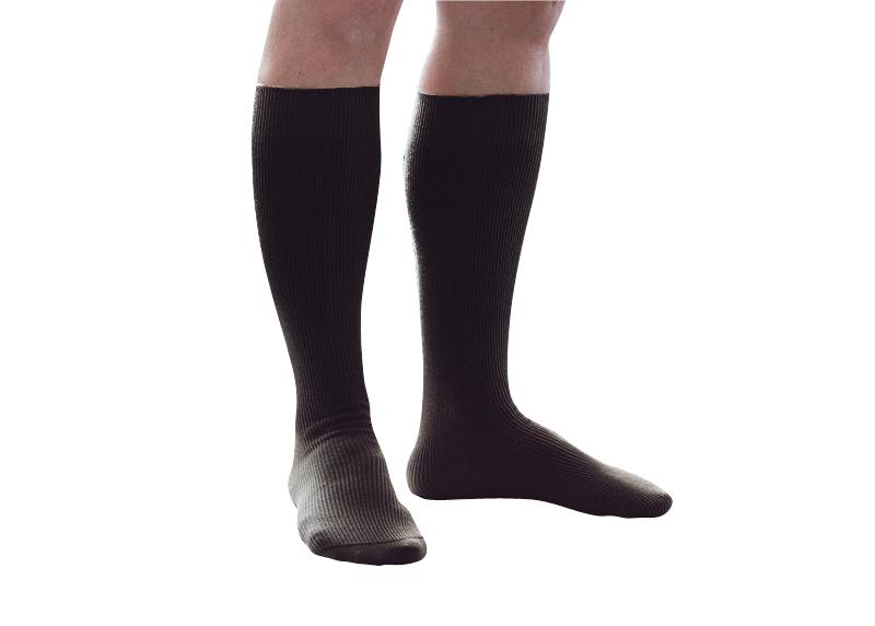 mi bas noirs non comprimants chaussettes confort pour femme. Black Bedroom Furniture Sets. Home Design Ideas